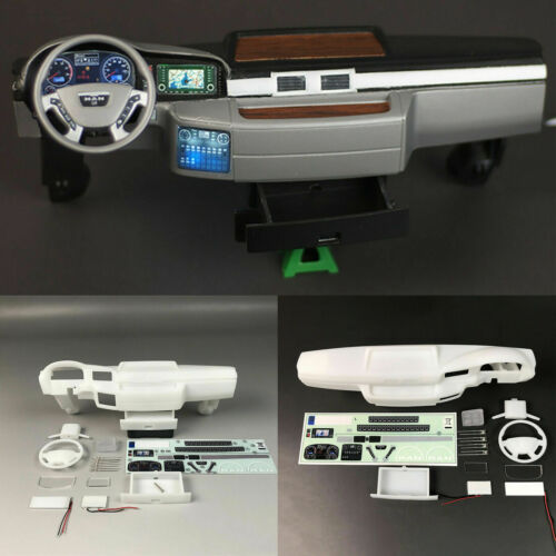 3V LED Internal Center Cab Für 1//14 Tamiya MAN TGX 56325 RC Tractor Truck Auto