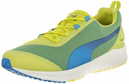 Puma Homme Ignite XT Running Athletic Chaussures Sneakers, Sulphur Spring / Cloisonnee