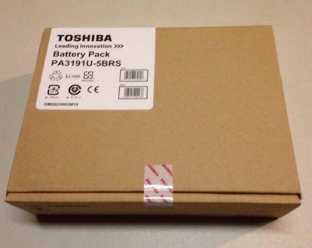 NEW TOSHIBA Satellite R10, R15, R20, R25  PA3191U-5BRS 4700 mAh GENUINE BATTERY