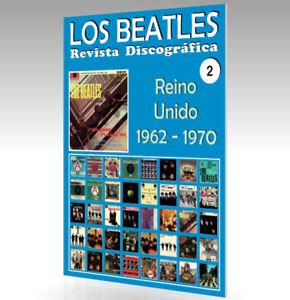 Los-Beatles-Revista-Discografica-N-2-Reino-Unido-1962-1970-Todo-Color