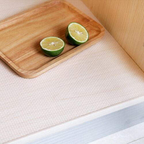 1//2x Non-Slip Drawer Mat Shelf Liner Cabinet Storage Pad Kitchen Cupboard Fridge