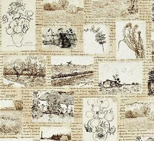 Vincent Van Gogh Drawings Paintings Sketches Fabric