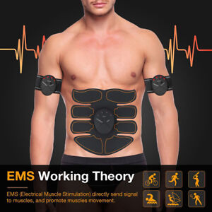 Smart Hips Muscle Trainer Sticker Buttock Tighter Fat Burning Body Sculpting Massager Stimulator Pad Fitness Gym Abs Arm Sports Skin Care Face Skin Care Tools