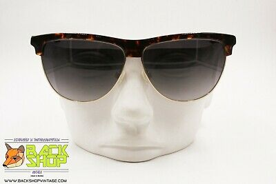 Nuova Moda Breil Mod. Brs630 Sunglasses Eyewear, Oversize Mask Darken Tortoise, Nos 1990s Ampia Selezione;