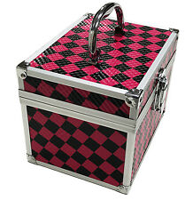 PINK controllato Bellezza Cosmetici Box costituiscono Custodia chiodo Tech Capelli Salon BAG