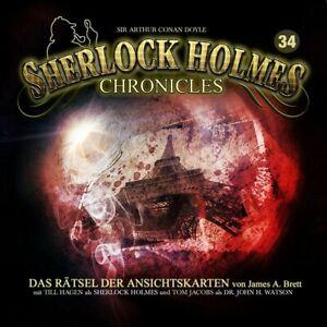 SIR-ARTHUR-C-DOYLE-SHERLOCK-HOLMES-CHRONICLES-34-RATSEL-DER-ANSICHTSKARTE-CD-NEW