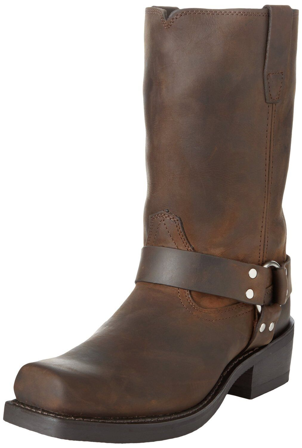 Durango Mens Tall Motorcycle Harness Boot Distressed Brown Leather DB594 EE Wide