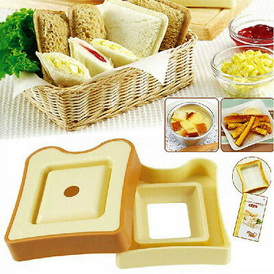 New Sandwich Bread Toast Bento Maker Mold Mould Cutter DIY Kitchen Tool Gadgets