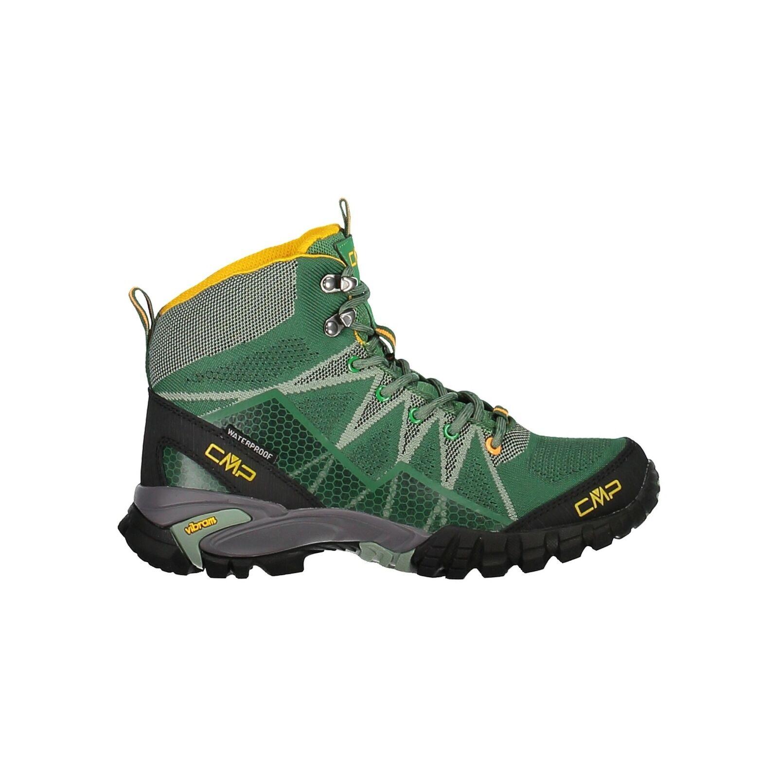 CMP Trekkingschuhe Outdoorschuh Tauri Mid Wmn Trekking shoes Wp grün wasserdicht