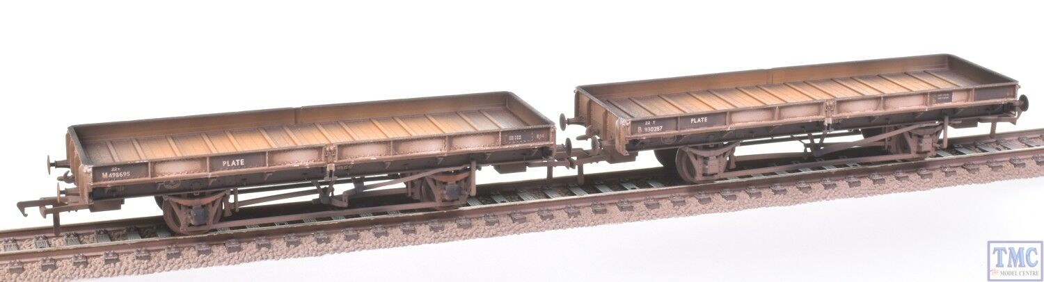 38-854Z Bachmann OO Plate Twin Pack  TMC Exclusive with Deluxe Weathering