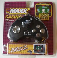 & Sealed Vs Maxx Texas Hold 'em 10 Casino Game Tv Plug & Play
