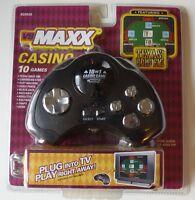 & Sealed Vs Maxx Texas Hold 'em 10 Casino Game Tv Plug & Play