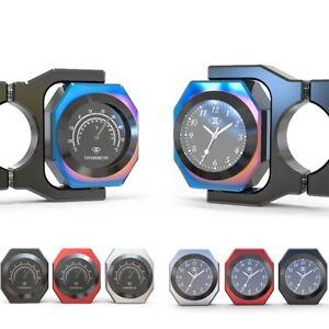 Spirit-Beast-Handlebar-Clocks-Thermometer-Motorcycle-Gauge-for-Honda-Harely-BMW