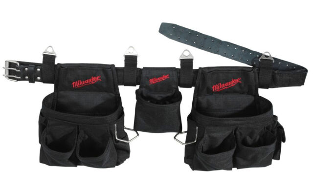 Milwaukee NEW 33 Pocket 3 Piece Tool Belt 49-17-0190