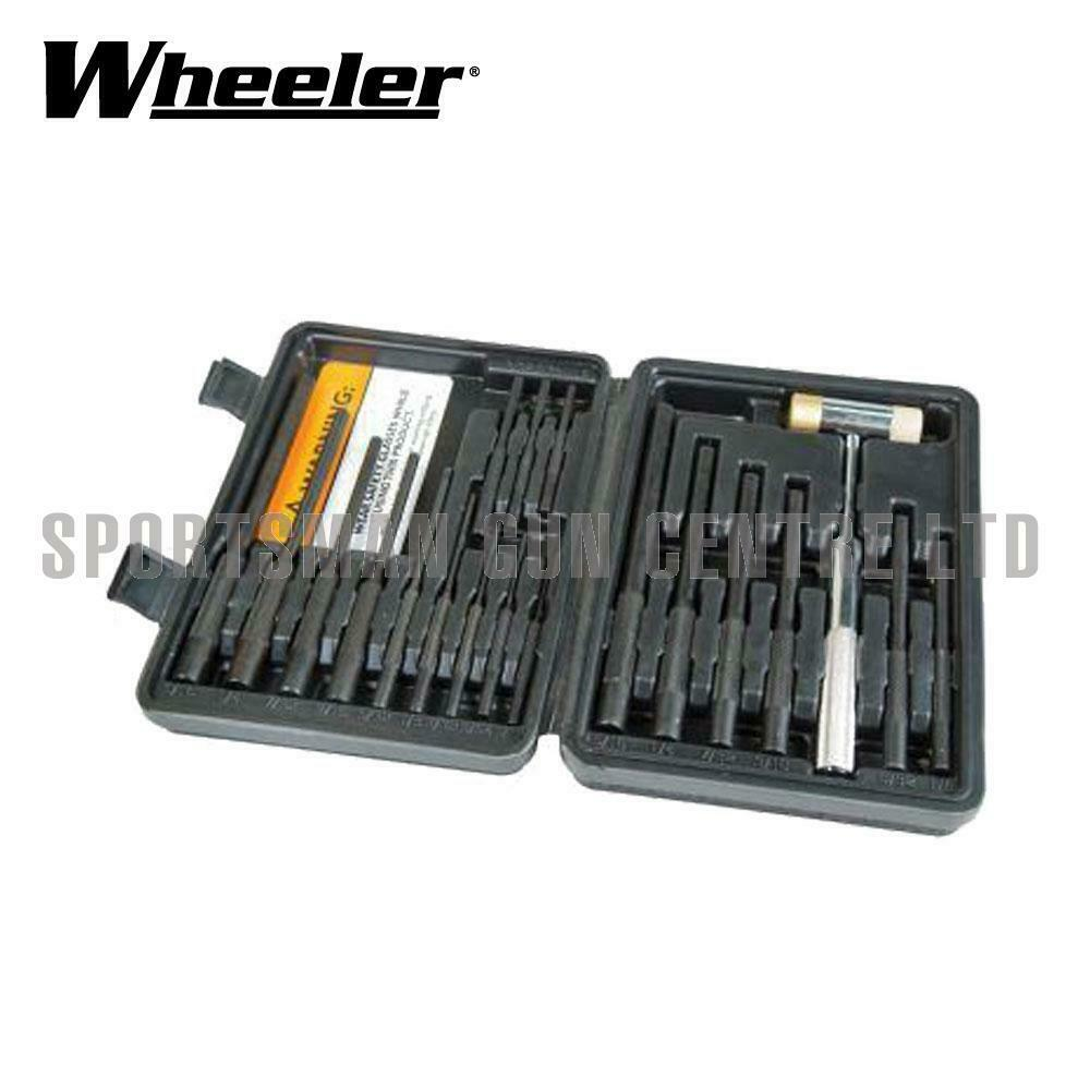 Wheeler MASTER rollo Pin Punch Set