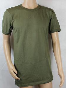 Bundeswehr-Unterhemd-BW-T-Shirt-Baumwolle-oliv-Gr-5-10-NEU