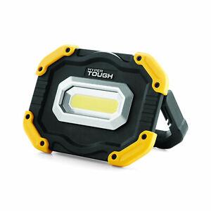 Details About Hyper Tough 1000 Lumen Rechargeable Led Work Light Foldable Handle Usb Port 5v 1