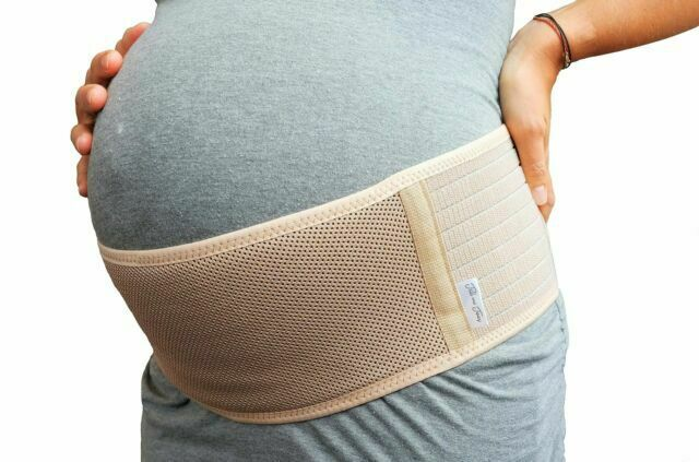 Belly Band for Pregnancy Maternity Belt Back Support When Pregnant Nude L