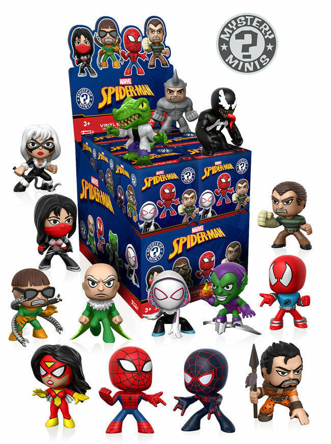 Spider-Man Classic Mystery Minis Display Case of 12 - New instock
