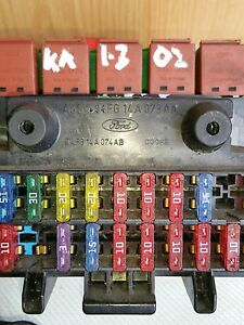 details about ford ka 1 3 2002 mk1 (p reg to 2008) dashboard fuse box 94fg14a074ab Ka Fuse Box ford ka fuse box diagram 2005 group