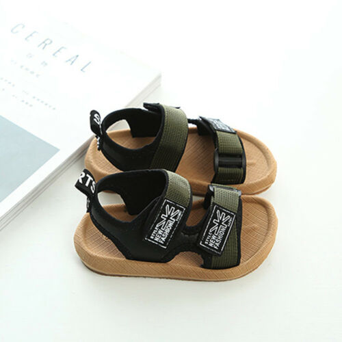 Baby Boys Beach Sandals Sneaker Toddler Children Patchwork Casual Single Shoes X