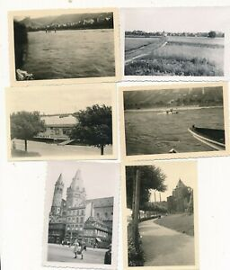 Nr-26889-6-x-Foto-Mainz-a-Rhein-2-Weltkrieg-versenkte-Schiffe-6-x-9-cm