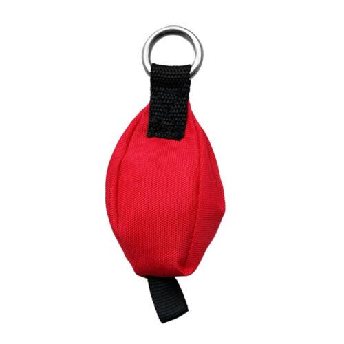 Cirugía de árbol al aire libre y escalada tirar peso Rojo Bolsa Con Lazo De Cola 8.8 OZ (approx. 249.47 g)