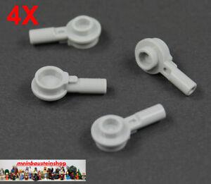 Lego 10 Stück schwarze Platten 1x1 mit Griff 26047 Neu seitliche Stange Halter