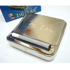 Zig Zag TIN Automatic Cigarette Tobacco Rolling Machine Box 70mm Roller Roll