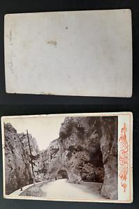 France-Gorges-de-la-Pierre-Lys-Vintage-print-carte-cabinet-Photomecanique