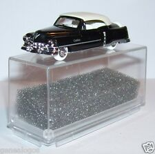MICRO PRALINE HO 1/87 CADILLAC 54 LUXUS CABRIOLET FERME NOIRE IN BOX