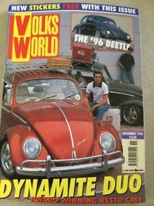 Volks-World-VW-Magazine-November-1996-The-96-Beetle