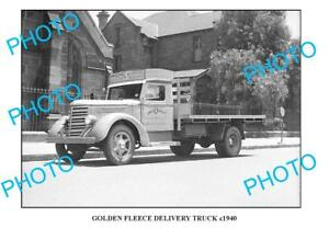 OLD-LARGE-PHOTO-OF-GOLDEN-FLEECE-TRUCK-c1940-SYDNEY-2