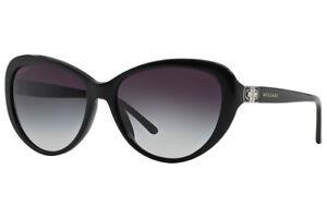 Authentic-Bvlgari-BV-8131B-501-8G-Sunglasses-Black-Grey-Gradient-Lens