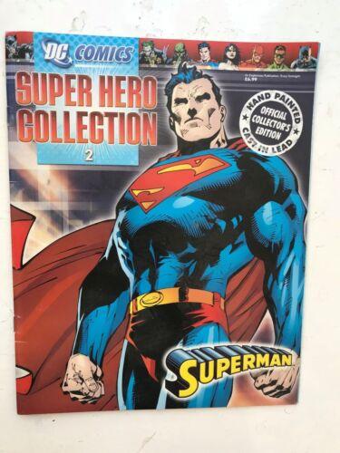 DC COMICS Super Héroe Figura Colección Edición 2 Superman EAGLEMOSS revista sólo