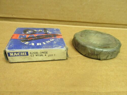 NACHI 62082NSEC3 BEARING RUBBER SEALED 6208 2NSE 6208-2RS-C3 40x80x18 mm