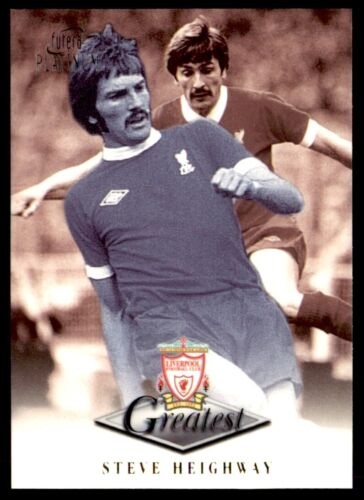 Futera Liverpool plus Platine 1999-Steve Heighway