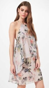 ce916a53b79 Image is loading BNWT-MISS-SELFRIDGE-Floral-Chiffon-Double-Layer-Dress-