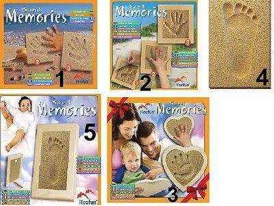 Licofun Sand Memories Fußabdruck ohne Rahmen Erinnerung aus Sand *NEU*