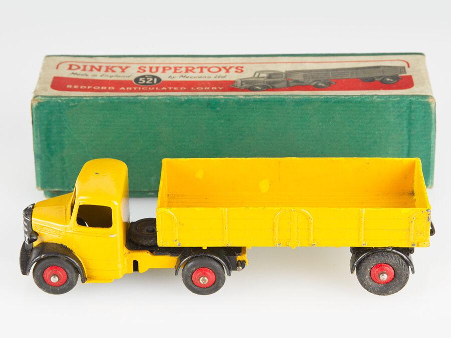 Seleccione de las marcas más nuevas como Dinky Dinky Dinky Juguetes Meccano 521 Bedford camión Articulado Y Caja  n ° 1 en línea