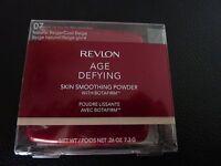 Revlon Age Defying Skin Smoothing Powder-natural Beige/cool Beige 07-new/sealed