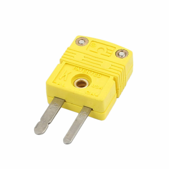 SMPW-K-M/F K Type Thermocouple Temperature Measuring Wire Male Plug Connector