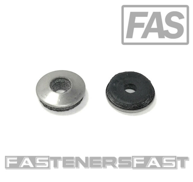 #8 x 3//8 OD Brass Flat Washer, 100 Pack by Bolt Dropper - Choose Size