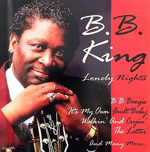 B-B-King-CD-Lonely-Nights-Europe-EX-EX