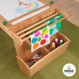 fa2c6cbaaf68 KidKraft 26954 Art Table with Drying Rack and Storage for sale ...