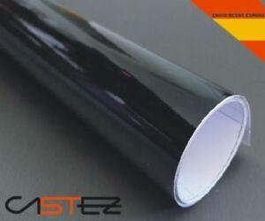 VINILO NEGRO BRILLO 152x100 CM (ENVIO  24/48h)  black glossy vinyl