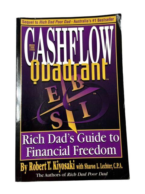 THE CASHFLOW QUADRANT Robert T Kiyosaki  FREE FAST POSTAGE & TRACKING