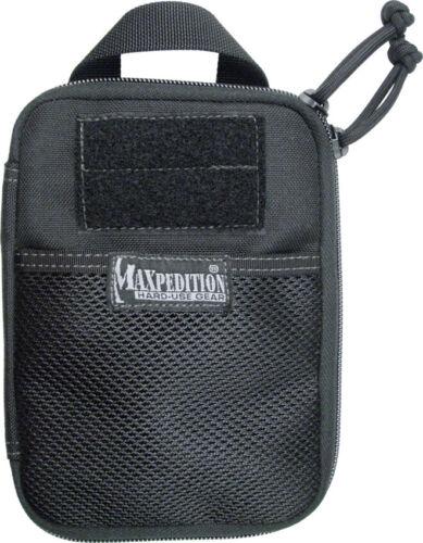 "Pocket Organizer Maxpedition MX246B Black Compact 5/"" x 7/"" x .75/' E.D.C"