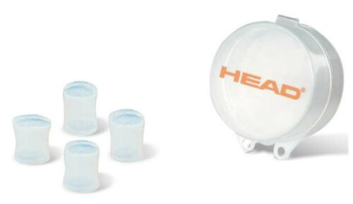 Head Moulded Clear Silicone Ear Plugs