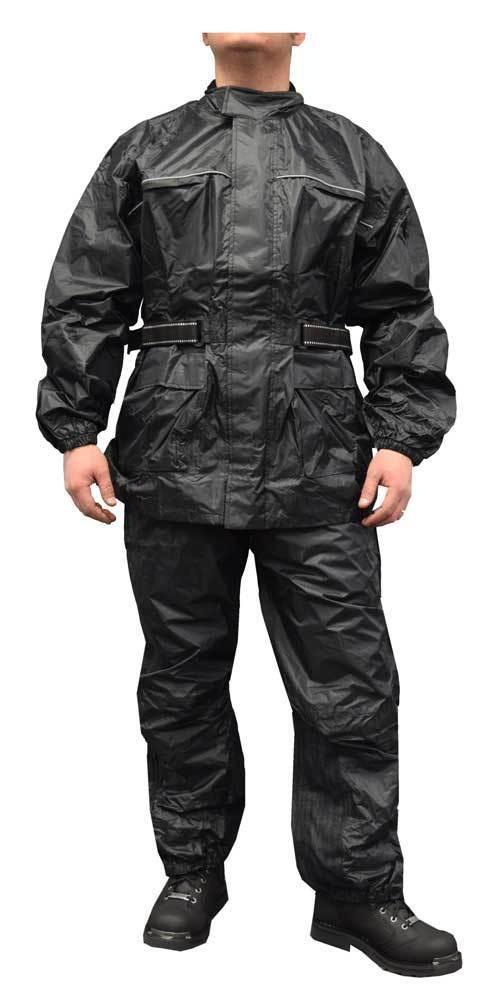 Redline Unisex 2-Piece Motorcycle Rain Suit, Waterproof w  Heat Seams M-RHR66
